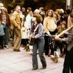 1976 Bonn , Die Anfänge : Straßenmusik