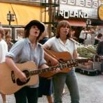 1979 Straßenmusik, auf dem Kurfürstendamm, Berlin